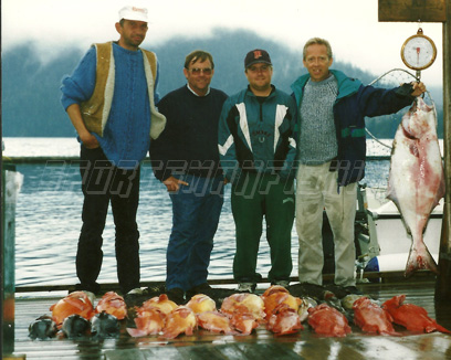 bottom fishing in nootka sound